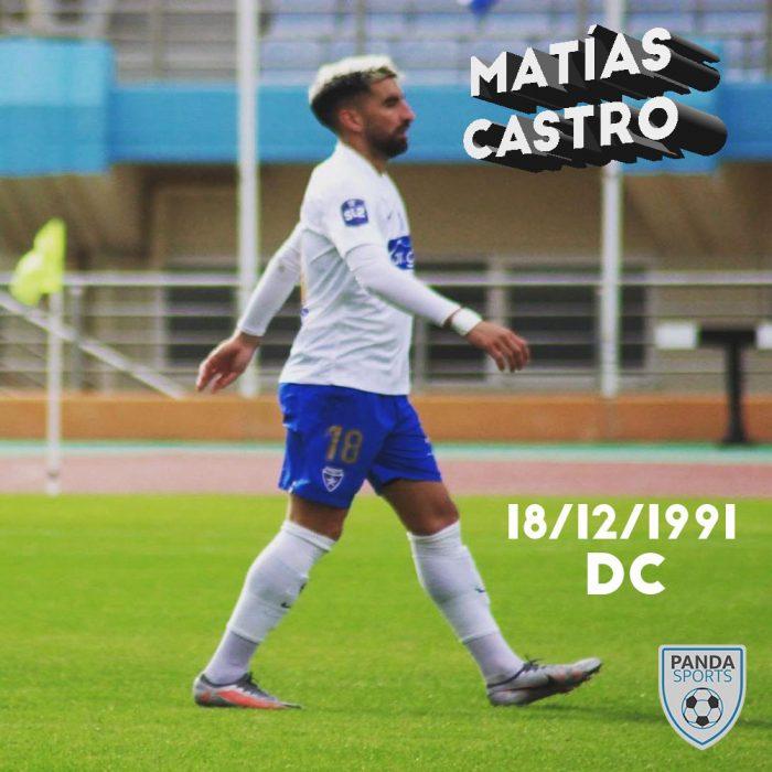 Matías Castro es actualmente el máximo goleador de la Super League Greece Two, con 12 goles en 19 partidos con Ionikos FC.