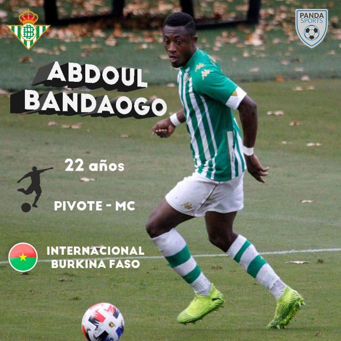 Abdoul Bandaogo, actual jugador del Betis Deportivo