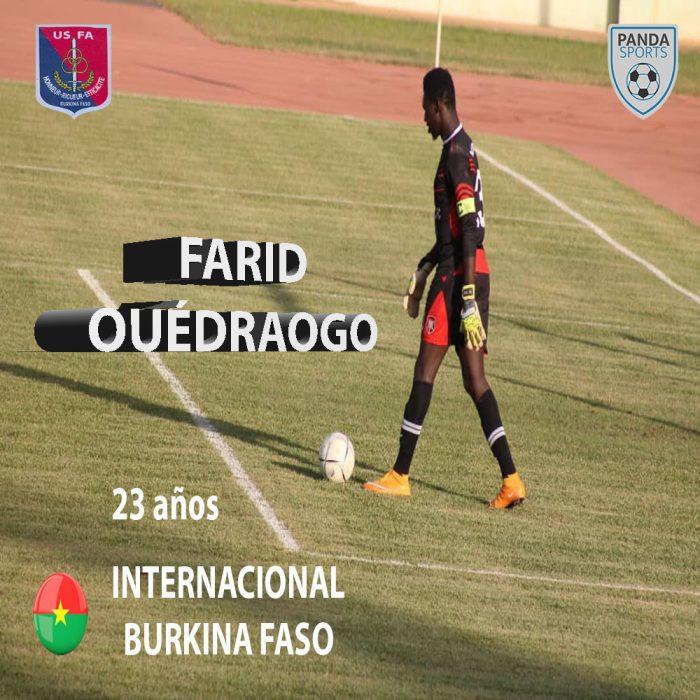 Farid Ouédraogo, nuevo portero de Panda Sports