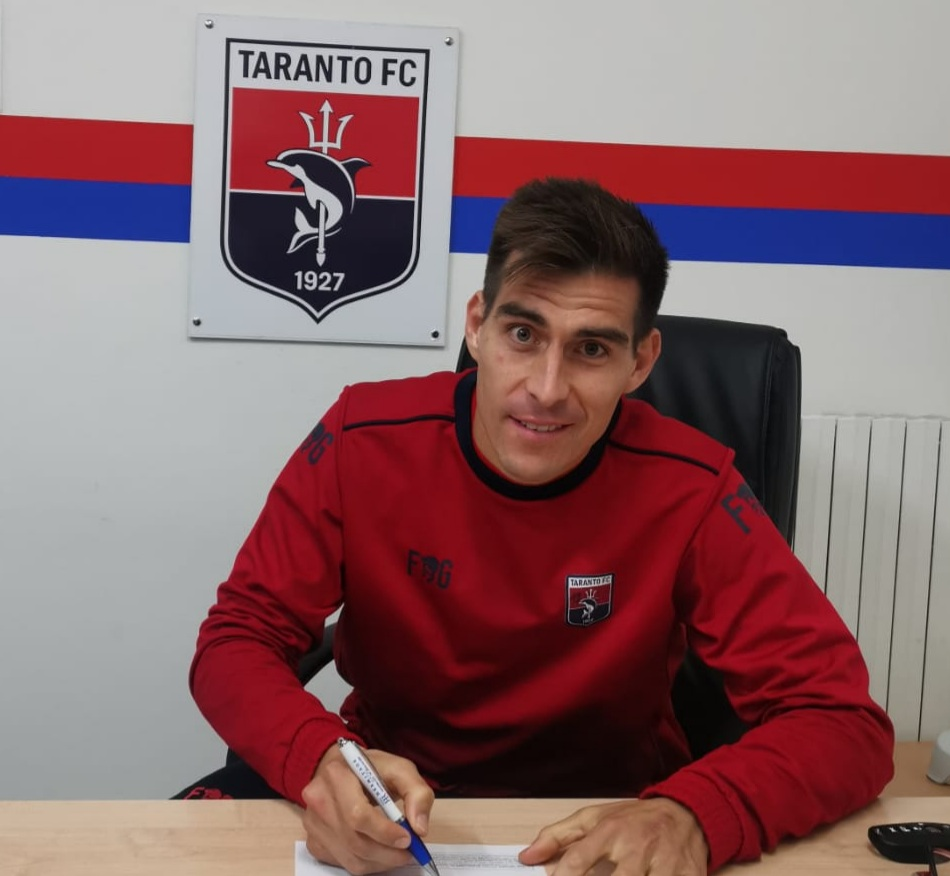 Guido Abayian, nuevo fichaje del Taranto FC. Viene cedido del Città di Sant'Agata, donde marcó 3 goles y dio 3 asistencias en 5 partidos.