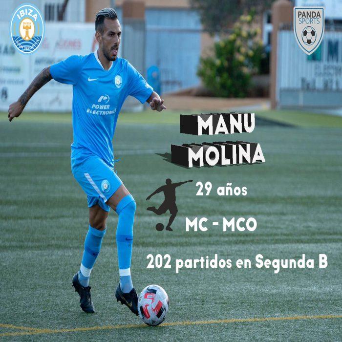 Manu Molina, actual jugador de la UD Ibiza