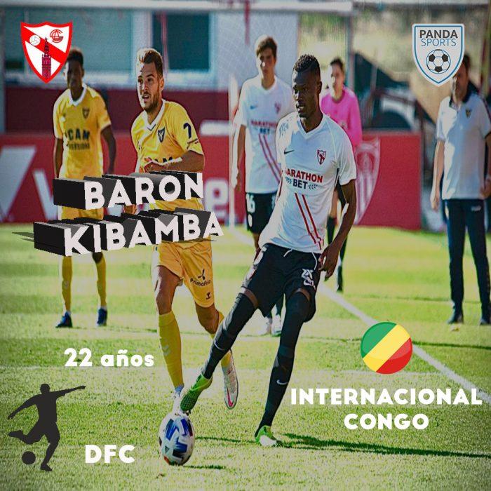 Baron Kibamba, actual jugador del Sevilla Atlético