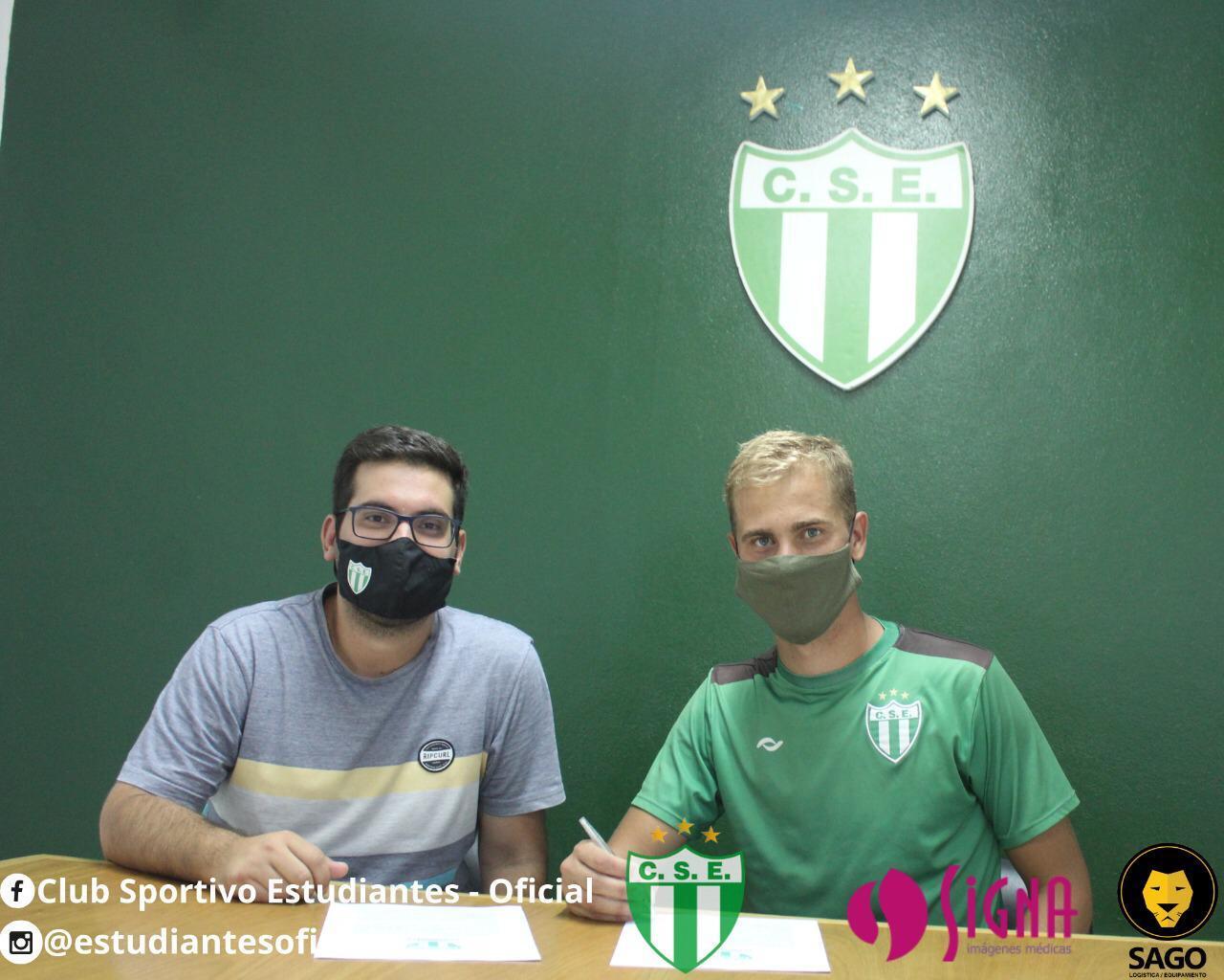 El delantero centro Federico Vasilchik ficha por Estudiantes de San Luis porcedente del Giarre Calcio de la Eccellenza de Italia.