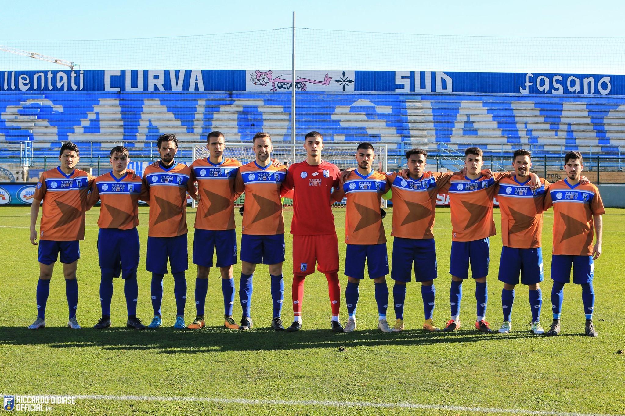 Facundo Urquiza, Tomás Urruty, Tomás López y Exequiel Narese fueron titulares en la victoria de Us Città di Fasano por 1 a 0