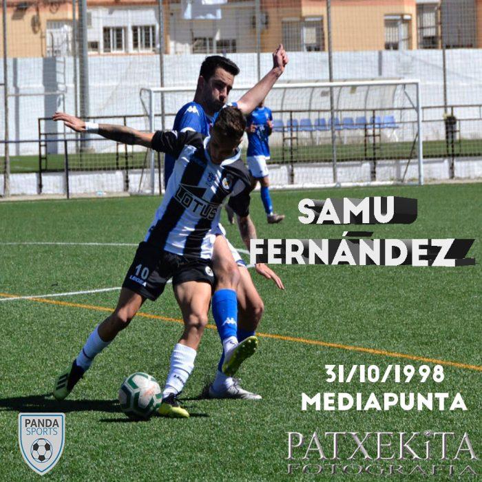 Samuel Fernández es un joven mediapunta que maneja ambas piernas, con gran disparo, visión de juego y despliegue físico.