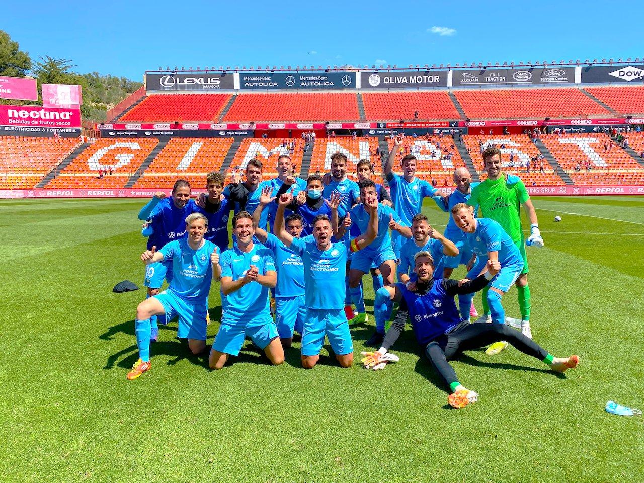 El Ibiza UD de Manu Molina se proclama campeón del Grupo 3 de Segunda B y luchará por una plaza en la Liga Smartbank.