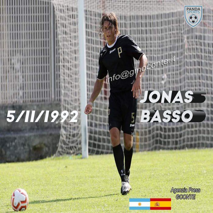 Panda Sports incorpora al defensa central Jonas Basso, de 28 años y con doble nacionalidad. Estuvo 3 años en la cantera de River Plate.