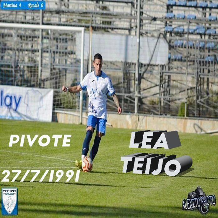 Lea Teijo es un pivote aguerrido, que se puede adaptar a otras posiciones, con buen trato del balón y pegada.