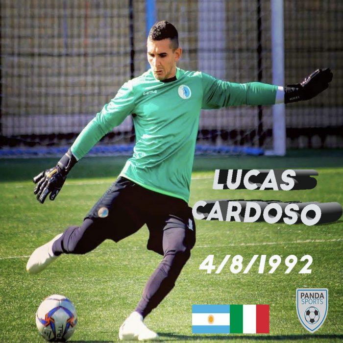 Lucas Cardoso es un guardameta decisivo, seguro, con buen juego aéreo y manejo de balón, con liderazgo bajo palos.