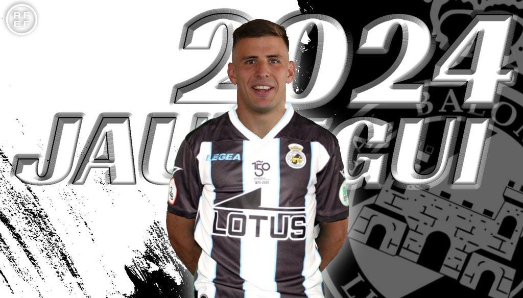 Nacho Jáuregui ha sido fichado por la Real Balompédica Linense y se compromete por tres temporadas con el decano del Campo de Gibraltar