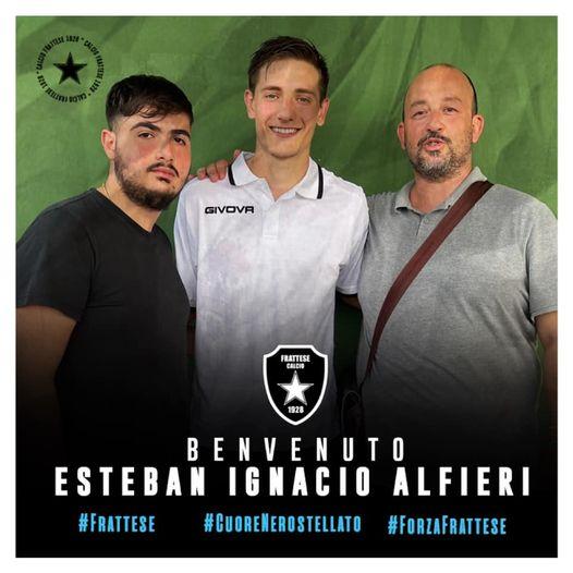 El centrocampista Esteban Alfieri se ha convertido en nuevo jugador del Frattese Calcio. Llega procedente del Sambiase.