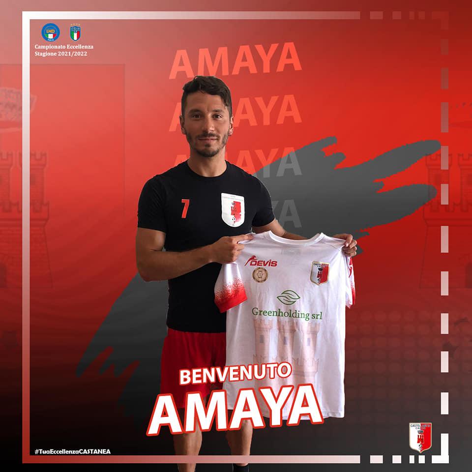 El delantero Fede Amaya se ha convertido en nuevo jugador del ASD Castellaneta Calcio, procedente del Olympia Agnonese.