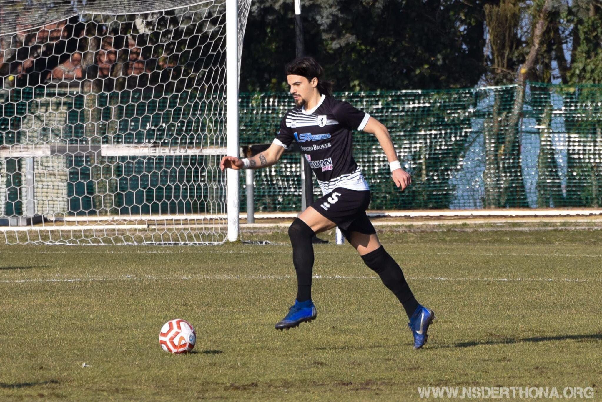 El central y lateral izquierdo Nicolo Tordini se incorpora a Panda Sports cuenta con más de 60 partidos en Serie D y 30 de Lega Pro