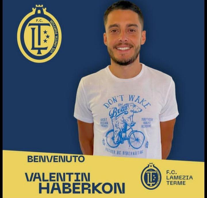 Panda Sports Management, en colaboración con AOrtiz Soccer, incorpora al delantero Valentin Haberknon, con 6 goles en 12 partidos en Serie D.